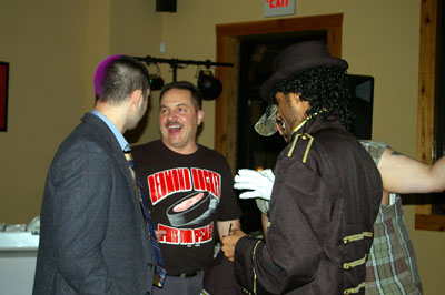 Picture from the 2008 Halloween Party at The Broadcast Booth